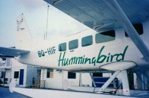Hummingbird Air Caravan - Maldives Photo Credit: Author
