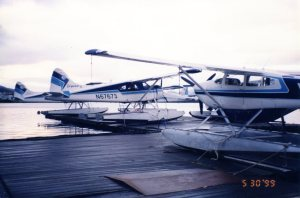Taquan Air Dock. Photo Credit: Author