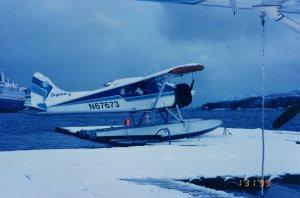 Snowy Beaver N67673  Taquan Air, Ketchikan Photo Credit: Author