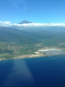 Mt Rinjani From the North